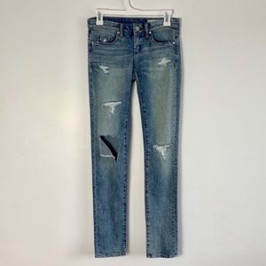 BLANK NYC Skinny Classique Distressed Jean